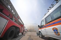 Сработка пожарной сигнализации в ТЦ