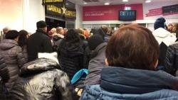 Эвакуация людей из ТЦ