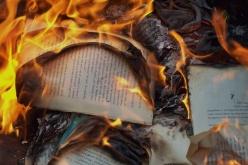 Пожар в библиотеке
