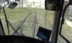 Видеонаблюдение в трамвае