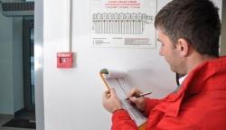 Проверка пожарной сигнализации